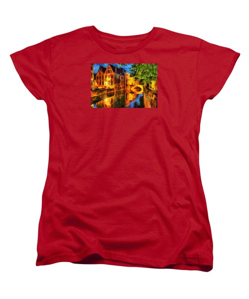 Romantique Women's T-Shirt (Standard Cut) by Greg Collins