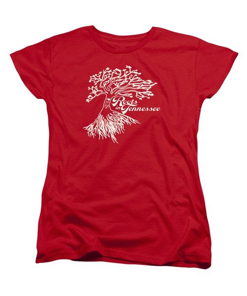 Roots In Tennessee Women's T-Shirt (Standard Cut) by Heather Applegate