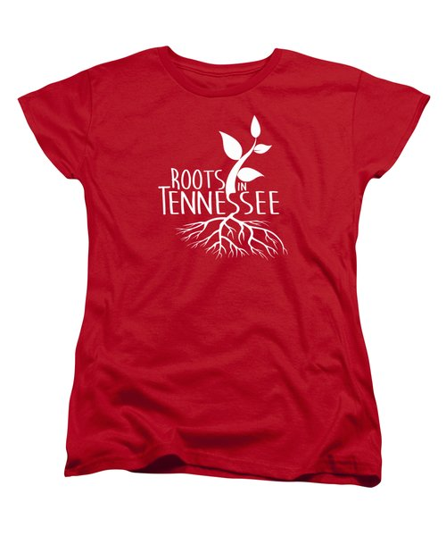Roots In Tennessee Seedlin Women's T-Shirt (Standard Cut) by Heather Applegate