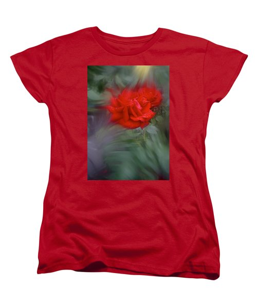 Rose Aug 2016 Women's T-Shirt (Standard Cut) by Richard Cummings