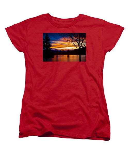 Rose Canyon Dawning Women's T-Shirt (Standard Cut) by Paul Marto