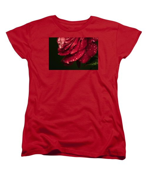Rose Women's T-Shirt (Standard Cut) by Craig Szymanski