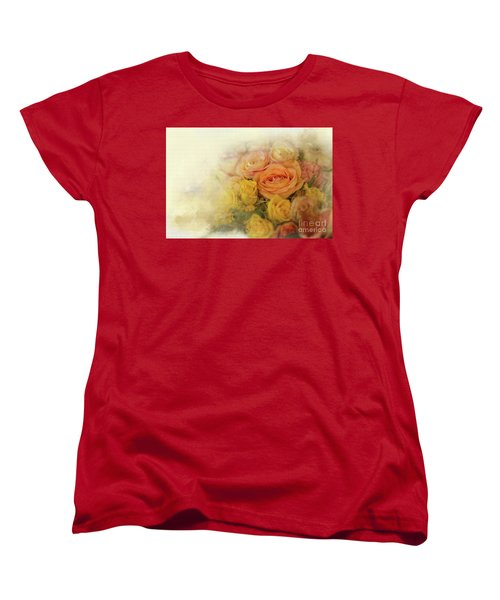 Roses For Mother's Day Women's T-Shirt (Standard Cut) by Eva Lechner
