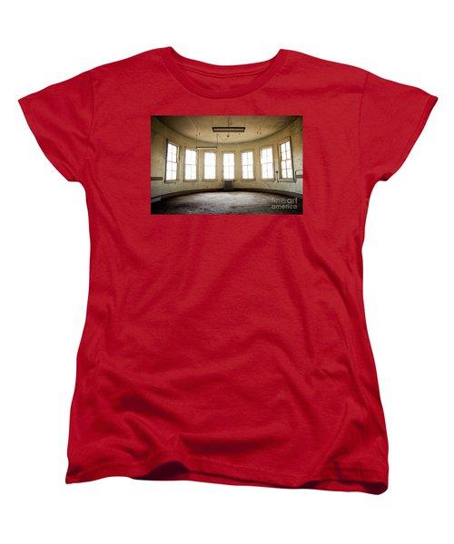 Round Room Women's T-Shirt (Standard Cut) by Randall Cogle