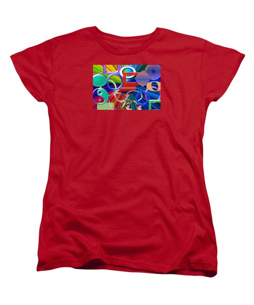 Rounded Women's T-Shirt (Standard Cut) by Tina M Wenger