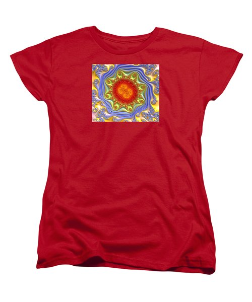 Royal Crown Jewels Women's T-Shirt (Standard Cut) by Kevin Caudill