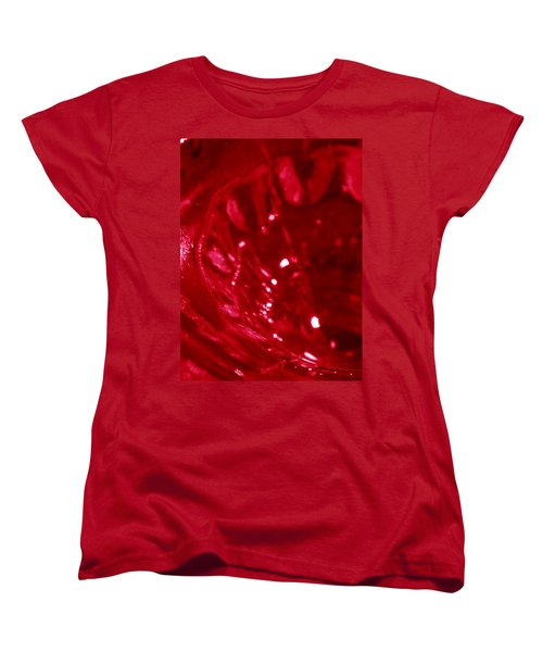 Ruby Glass Beauty Women's T-Shirt (Standard Cut) by Samantha Thome