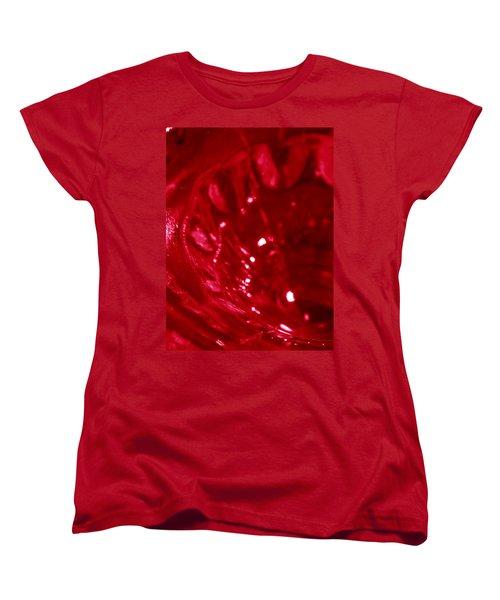 Ruby Glass Beauty Women's T-Shirt (Standard Cut)