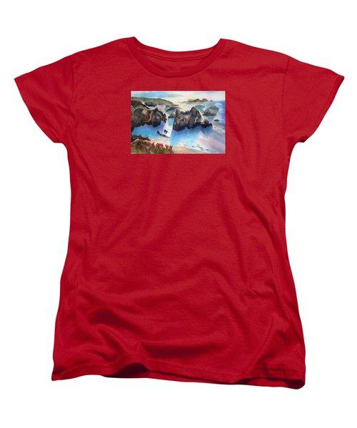 Marin Lovers Coastline Women's T-Shirt (Standard Cut)