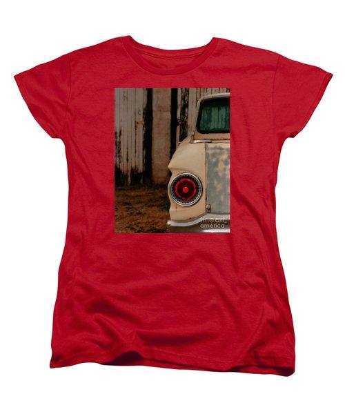 Rusty Car Women's T-Shirt (Standard Cut) by Heather Kirk