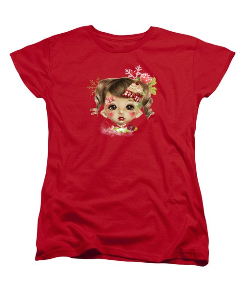 Sabrina - Elf  Women's T-Shirt (Standard Cut) by Sheena Pike