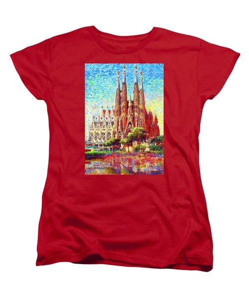 Sagrada Familia Women's T-Shirt (Standard Fit)