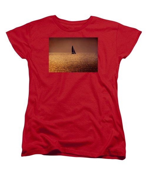 Sailing Women's T-Shirt (Standard Cut) by Steven Sparks