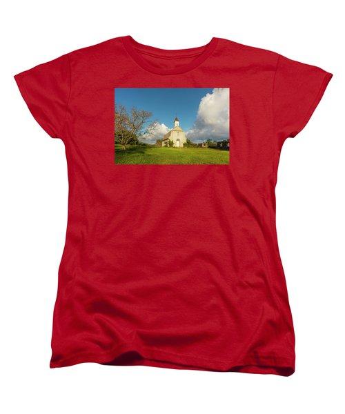 Women's T-Shirt (Standard Cut) featuring the photograph Saint Joseph's Church by Ryan Manuel