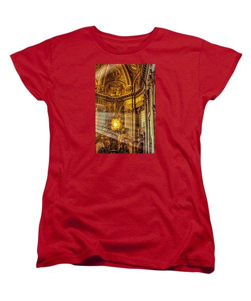 Women's T-Shirt (Standard Cut) featuring the photograph Saint Peter's Chair by Trey Foerster