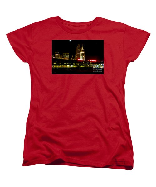 San Francisco Nights Women's T-Shirt (Standard Cut) by Mitch Shindelbower