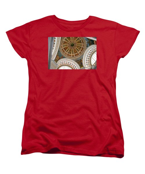 Women's T-Shirt (Standard Cut) featuring the photograph San Juan Capital Building Ceiling by Lois Lepisto