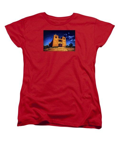Women's T-Shirt (Standard Cut) featuring the photograph Sanctuary  ... by Chuck Caramella