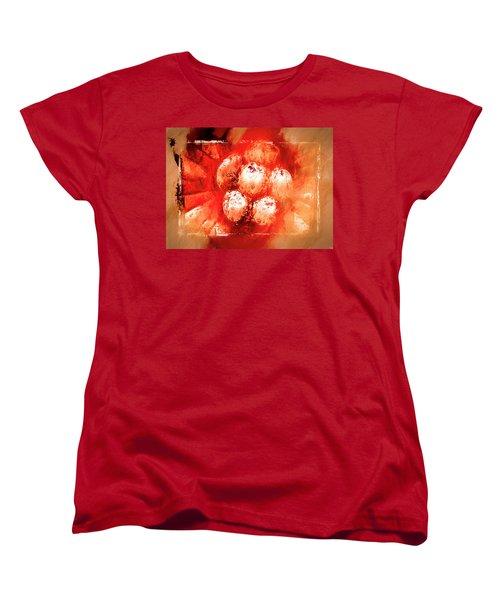Women's T-Shirt (Standard Cut) featuring the digital art Sand Storm by Carolyn Marshall