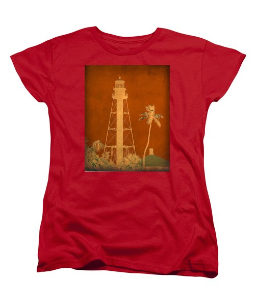 Sanibel Island Lighthouse Women's T-Shirt (Standard Cut) by Trish Tritz