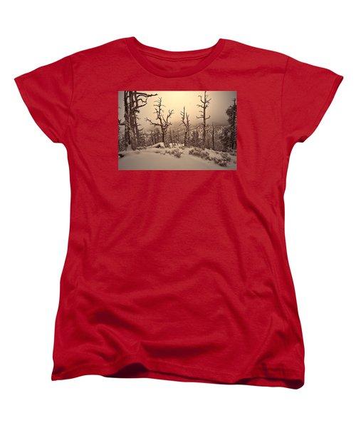Saving You  Women's T-Shirt (Standard Cut) by Mark Ross