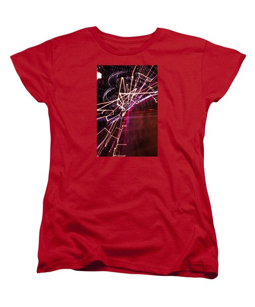 Women's T-Shirt (Standard Cut) featuring the photograph Scatter  by Micah Goff