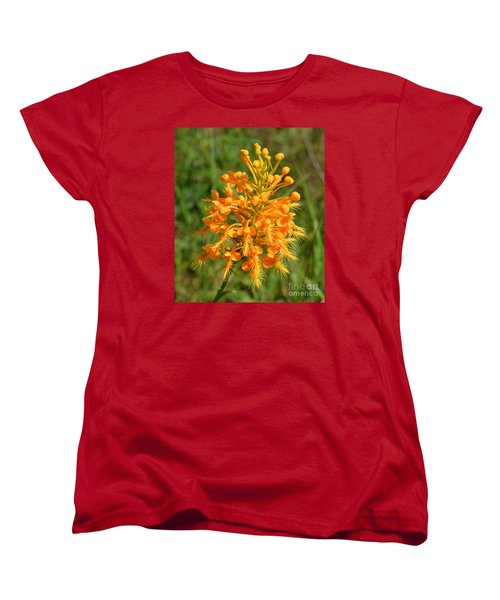 Women's T-Shirt (Standard Cut) featuring the photograph School Bus Yellow by Lew Davis