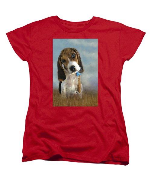 Scout Women's T-Shirt (Standard Cut) by Steven Richardson