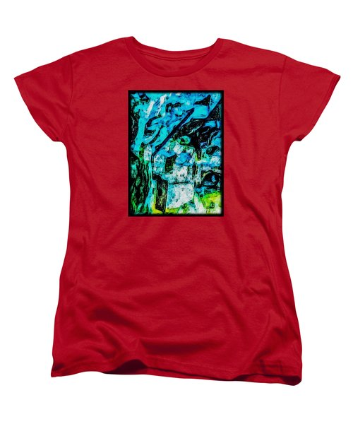 Women's T-Shirt (Standard Cut) featuring the photograph Sea Changes by William Wyckoff