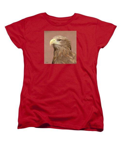 Sea Eagle Women's T-Shirt (Standard Cut) by Roy McPeak