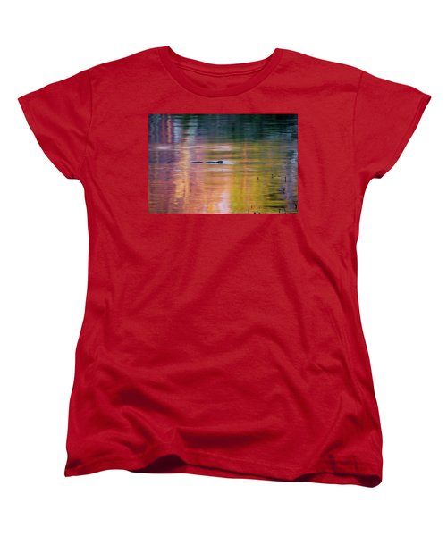 Women's T-Shirt (Standard Cut) featuring the photograph Sea Of Color by Bill Wakeley