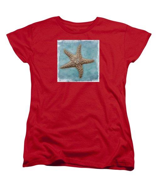 Sea Star Women's T-Shirt (Standard Cut) by David and Carol Kelly