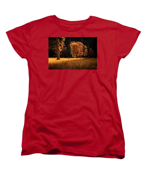 Searching For Light Women's T-Shirt (Standard Cut) by Nicki Frates