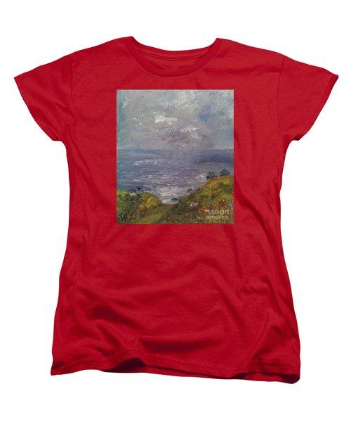 Seaview Women's T-Shirt (Standard Cut) by Genevieve Brown