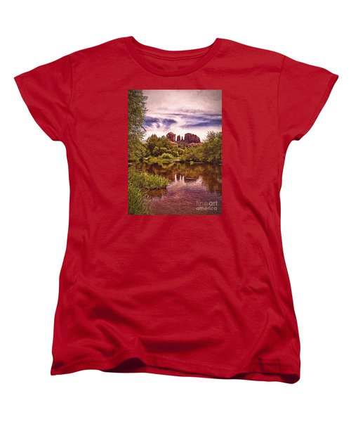 Women's T-Shirt (Standard Cut) featuring the photograph Sedona, Arizona  by Chuck Caramella