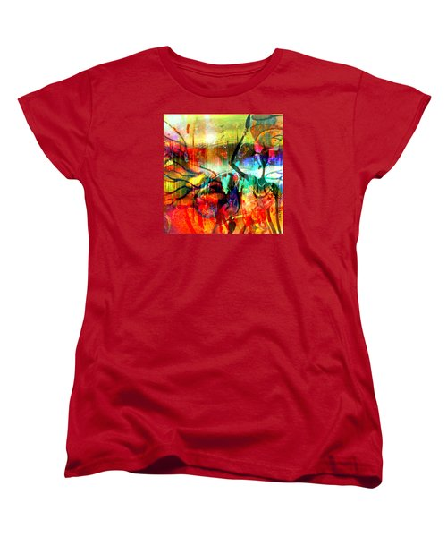 Self Employed Women's T-Shirt (Standard Cut) by Fania Simon