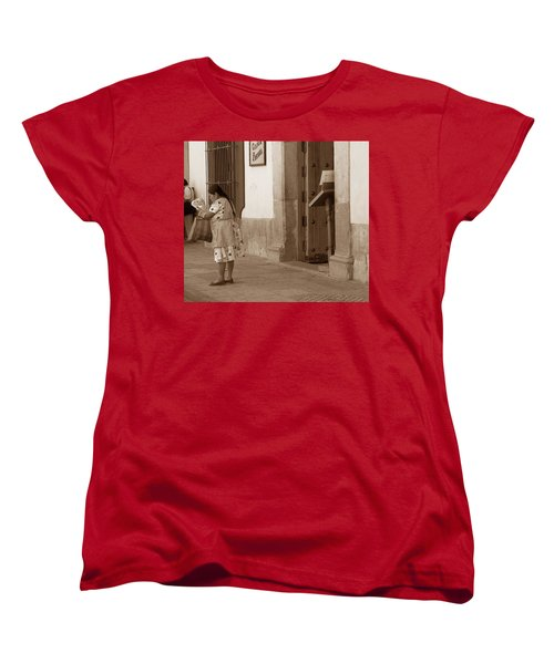 Women's T-Shirt (Standard Cut) featuring the photograph Senora by Mary-Lee Sanders