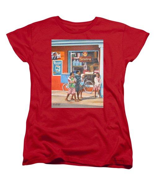 Sentra Women's T-Shirt (Standard Cut) by Tim Johnson