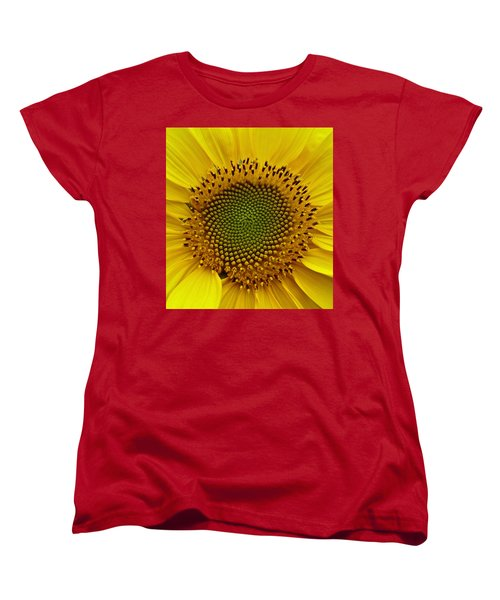 September Sunflower Women's T-Shirt (Standard Cut) by Richard Cummings