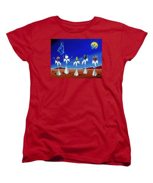 Serenade Of The Sisters Women's T-Shirt (Standard Cut)