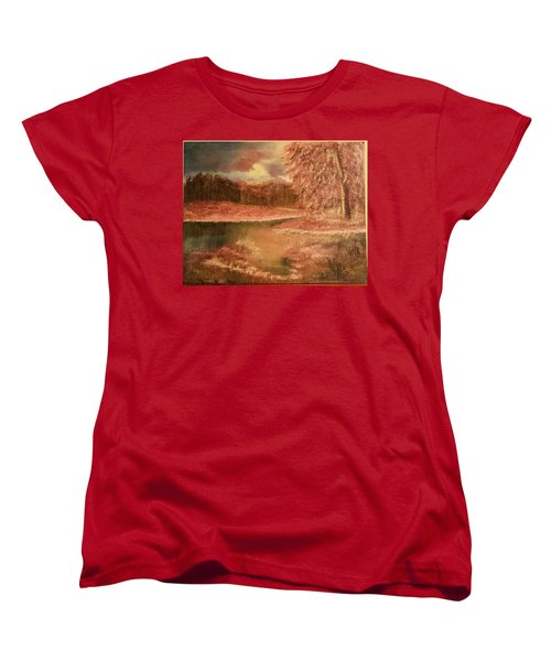 Serene Lake  Women's T-Shirt (Standard Cut)