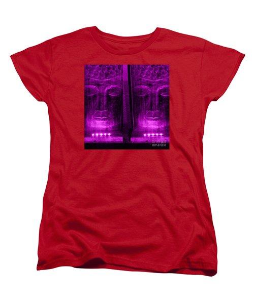 Serenity Women's T-Shirt (Standard Cut) by Linda Prewer