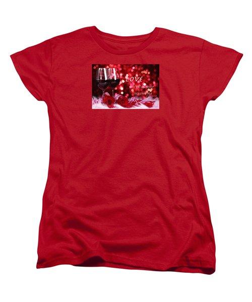 Women's T-Shirt (Standard Cut) featuring the photograph Set On Fire by David Norman