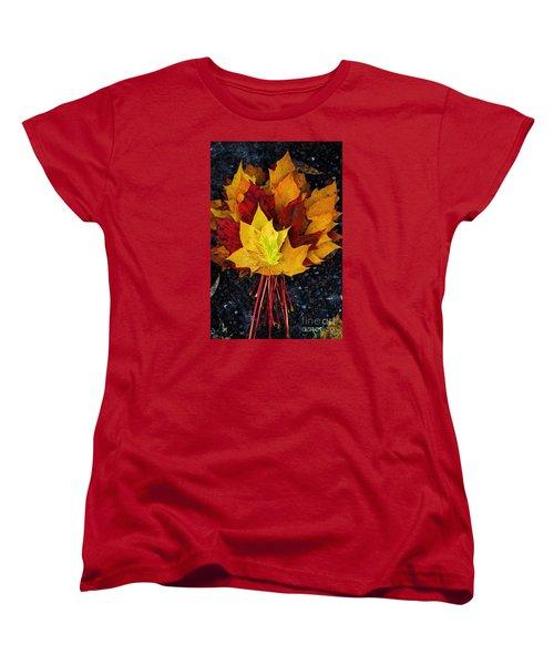 Shade Of Autumn  Women's T-Shirt (Standard Cut) by Gary Bridger