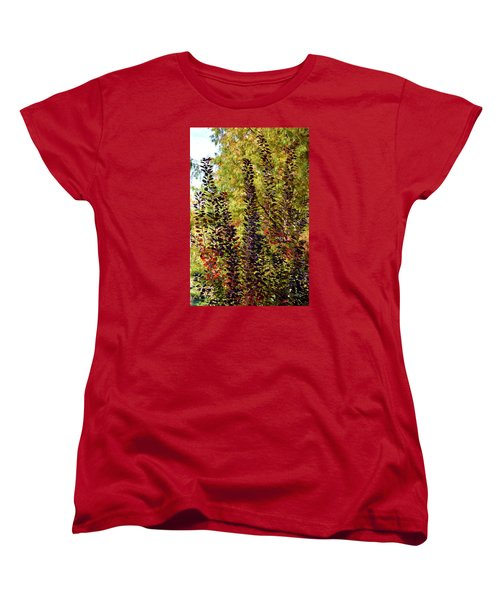 Shades Of Fall Women's T-Shirt (Standard Cut) by Deborah  Crew-Johnson