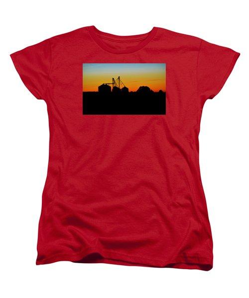 Shadow Farm Women's T-Shirt (Standard Cut) by William Bartholomew