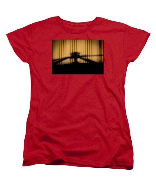 Women's T-Shirt (Standard Cut) featuring the photograph Shadow Rotor by Paul Job
