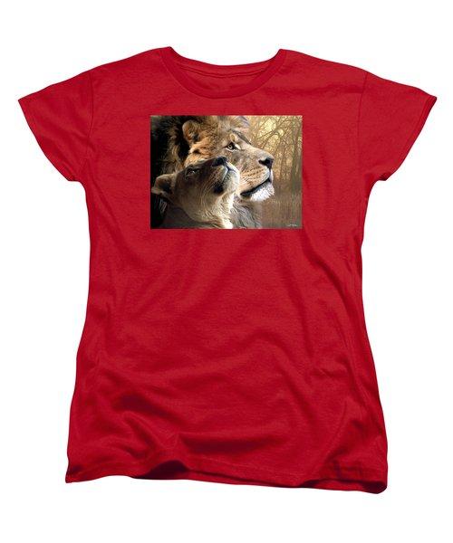 Sharing The Vision Women's T-Shirt (Standard Cut) by Bill Stephens