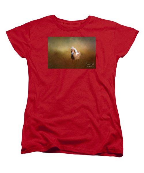 Shetland Pony Women's T-Shirt (Standard Cut) by Marion Johnson