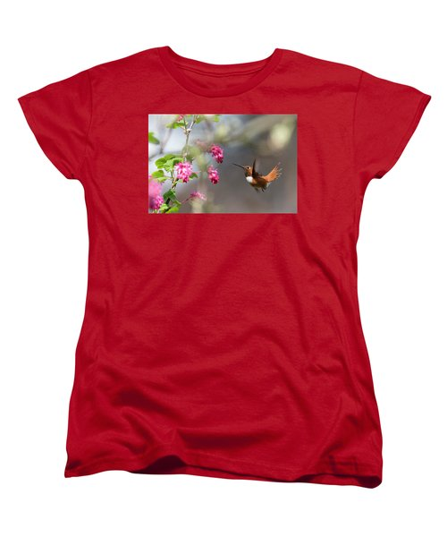 Sign Of Spring 3 Women's T-Shirt (Standard Cut) by Randy Hall